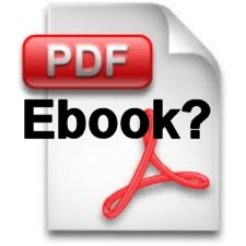 Can Something Saved as a PDF Be Considered an Ebook?