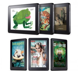 Two Underappreciated Views Regarding New Amazon Kindles: Kindle Fire Likely to Drive Amazon Store Sales and Advertising is Subsidizing Device Adoption