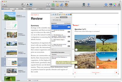 Apple iBooks Author: A self-publishing tool for authors of