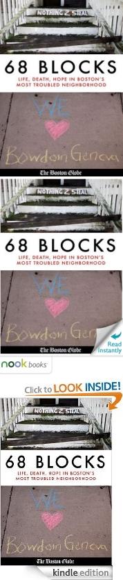 Newspaper eBooks and The Boston Globe's 68 Blocks