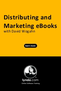 Our New Lynda.com Course: Distributing and Marketing eBooks