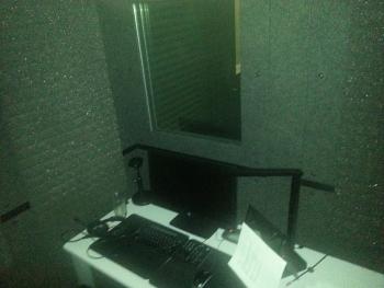 lynda recording booth