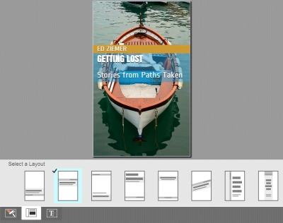 Kindle Cover Creator-8 Layout Designs