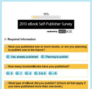 2013 eBook Self-Publisher Survey