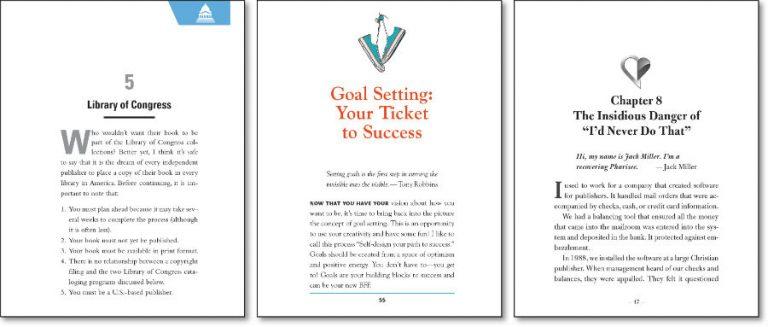 AuthorImprints custom book design