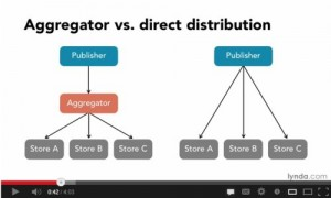 eBook Aggregator vs Direct Distribution Video