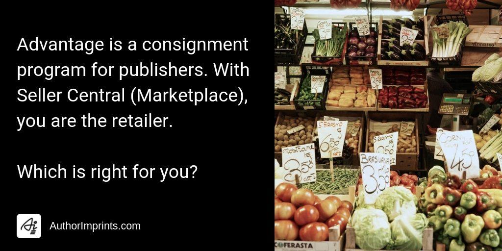 Amazon Advantage vs Amazon Seller Central (Marketplace)—An FAQ