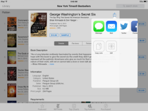 Apple Adds eBook Gifting to iBooks Store But Buries It with Social Media Icons