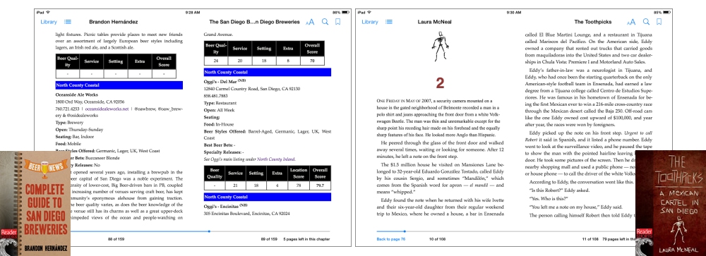 eBook Formatting Examples-San Diego Reader