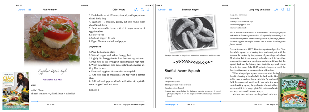 eBook Formatting-Cookbooks