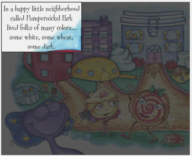 Area Magnification-Children's Kindle eBook programmed in KF8