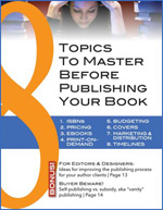 8 Topics to Master Before Publishing Your Book
