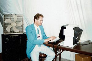 David Wogahn-LAOOC LAX Olympic Arrival Center-1984