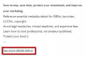 Barnes and Noble book description summary