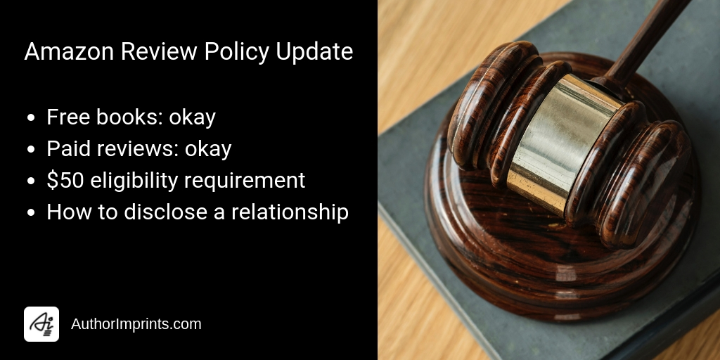 Amazon Book Review Policy Demystified for Authors-2019
