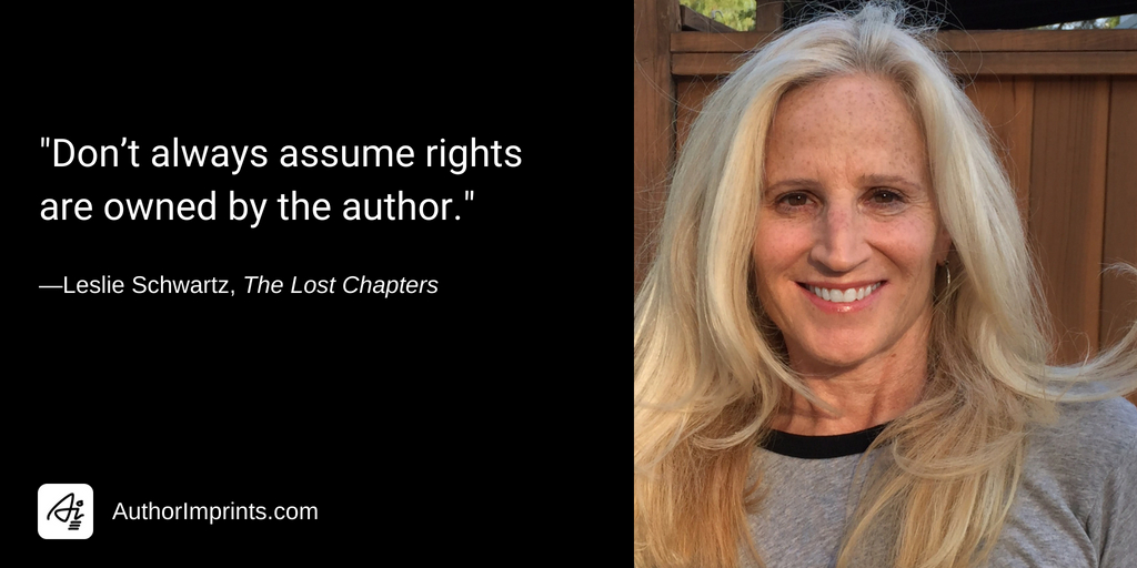 Copyright, Fair Use, and the Publishing of The Lost Chapters by Leslie Schwartz