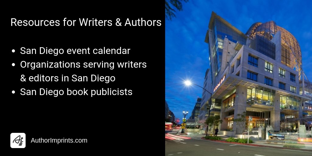 Self-Publishing & Book Marketing Resources for San Diego Editors Writers Authors