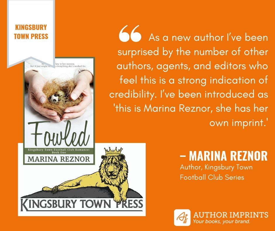 Imprint Profile - Marina Reznor - Kingsbury Town Press