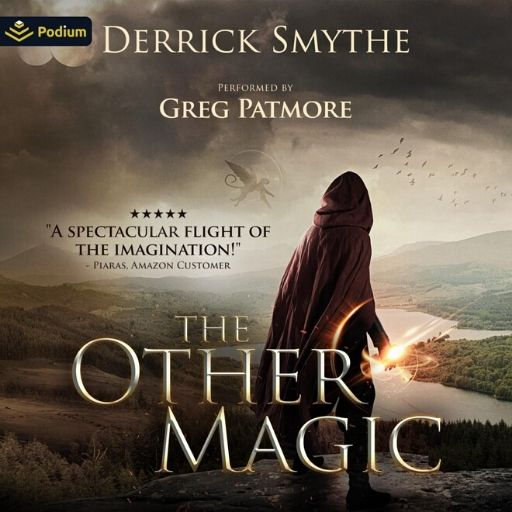 Book Marketing Case Study-The Other Magic-Derrick Smythe-audiobook cover