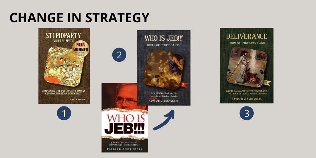 AuthorImprints book covers-change in strategy