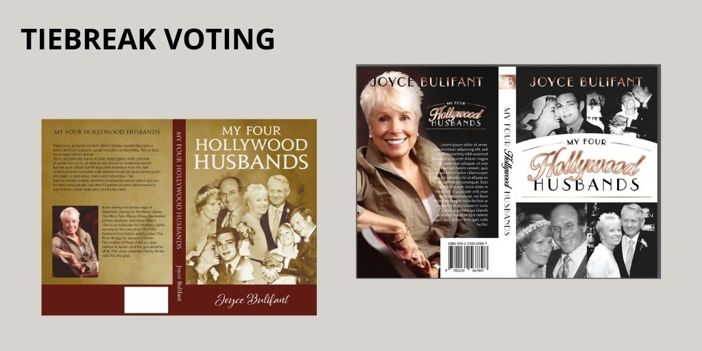 AuthorImprints book covers-tiebreak voting