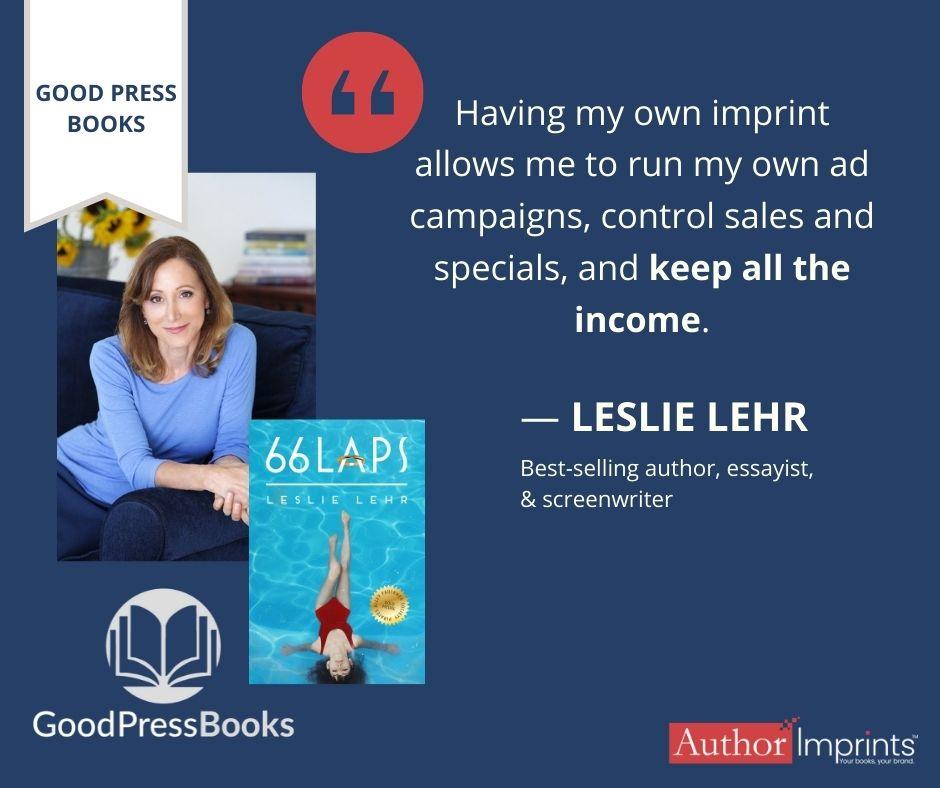 Good Press Books Imprint-Leslie Lehr