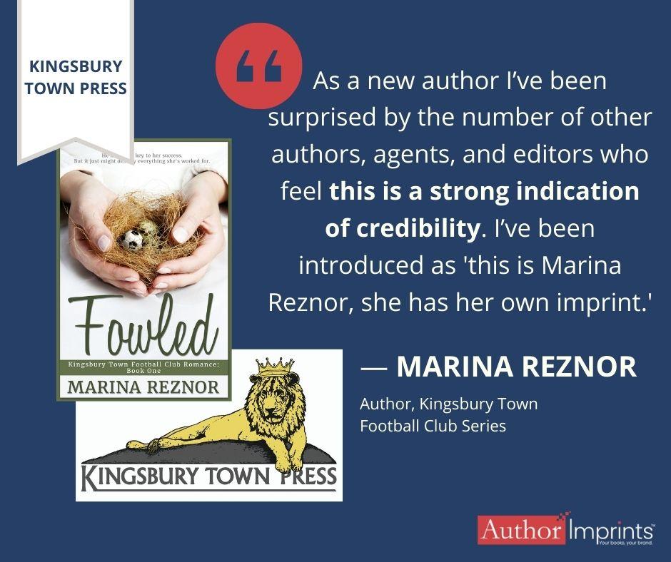 Kingsbury Town Press Imprint-Marina Reznor