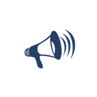 Author Imprints - Marketing bullhorn icon