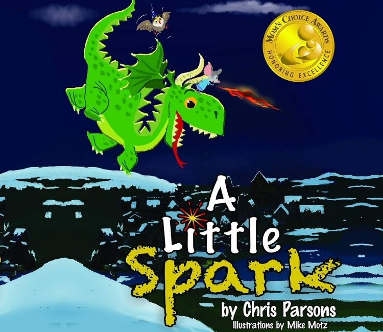 Book Marketing Case Study-A Little Spark by Chris Parsons
